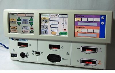 Valleylab Forcetriad  Electrosurgical Generator Tested Calibrated  4.0 Software