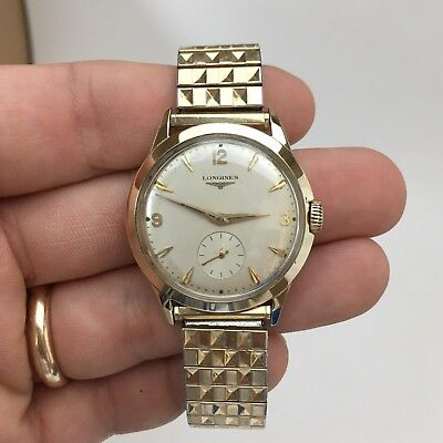 Vintage 1957 Longines 14k Solid Yellow Gold cal. 23Z 17 Jewels