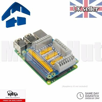 Raspberry Pi GPIO Breakout Shield Expansion Board Spring Loaded Terminal Block