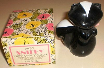 AVON - SNIFFY SWEET HONESTY COLOGNE 1.25 FL OZ. SIZE BOTTLE  in Org. Box
