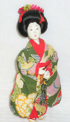 Small Vintage Asian Doll