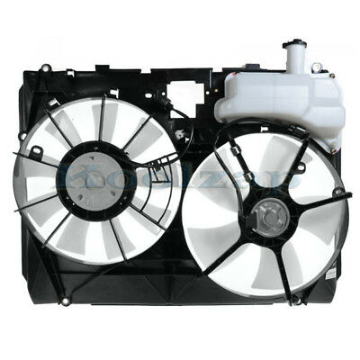 NEW FRONT RADIATOR COOLING FAN ASSEMBLY FITS 2004-2005 TOYOTA SIENNA 16361-0A140