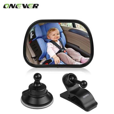 Baby Front View Mirror Car Back Seat View Mirror Reverse Safety Seats Mirror Bab