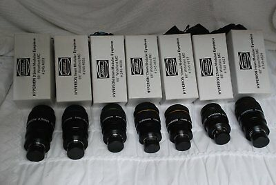 TELESCOPE EYEPIECES ... Baader Hyperion Set of 7 ... Excellent Condition