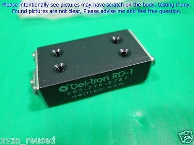 Del-Tron RD-1, Crossed Roller 0.5 Travel 1.06x0.32x0.56 inch, New . lφo