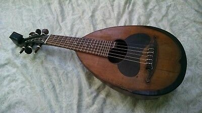 antique mandolino Milanese mandolin