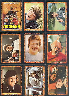 The Goonies - Complete Trading Card / Sticker Set (86/15) - 1985 Topps - NM