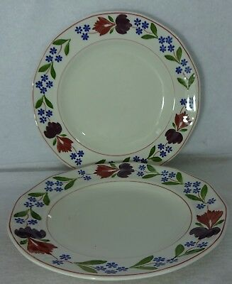 ADAMS Wedgwood China OLD COLONIAL Set of 2 Rim Soup Salad Bowl black mark 7-3/4""
