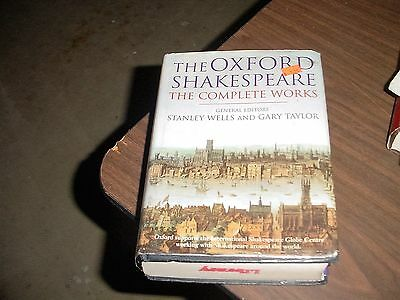 Oxford Shakespeare Complete Works Book