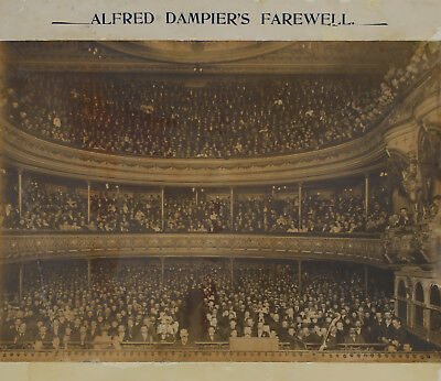 KERRY & CO. Alfred Dampier's Farewell [Lyceum Theatre] 1897/1906 gelatin photo