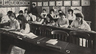 "Group of postcards relating to ""Shirley School for Girls"" Edgecliff NSW c1900s"