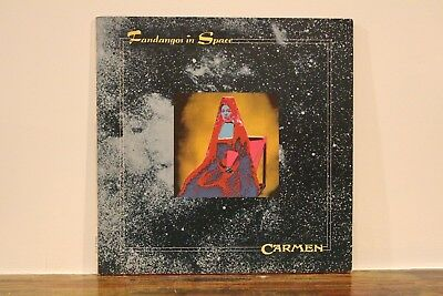 Carmen Fandangos In Space 1973 Uk Regal Zonophone Gatefold Lp Sr 8518 Glam Bowie