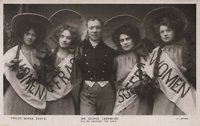 Collection Of Postcards Relating To Suffragettes And Women's Rights  c1900s-1968
