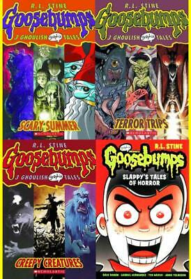 GOOSEBUMPS GRAPHIC NOVELS Collection Kid's Horor Series by RL Stine Volumes 1-4