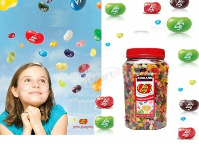 Jelly Belly Original Gourmet Jelly Beans Assorted Flavours 1.8kg Most Famous