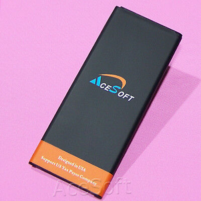 High-Capacity 6370mAh Extended Slim Battery for Samsung Galaxy Note 4 IV SM-N910