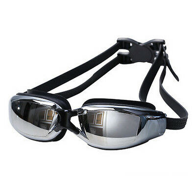 Prescription Myopia Nearsighted Swimming Train Goggles Glasses -2.0 TO -8.00 DY