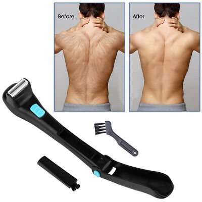 Electric Back Hair Shaver Remover Tool Shaving Home Professional Trimmer US BO