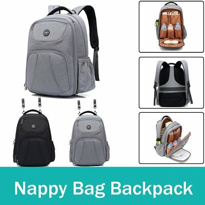Baby Diaper Nappy Backpack Waterproof Mummy Women Changing Bag Large Capacity
