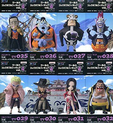 ONE PIECE World Collectable figure vol.4 Nanabuumi all eight full set