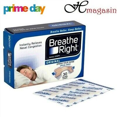 Breathe Right Nasal Strips Opens Nose Tan - 30 Small/Medium