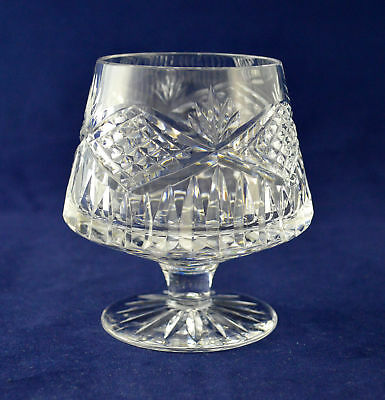 "Tyrone Crystal ""SLIEVE DONARD"" Brandy Glass – 9.9cms (3-7/8″) Tall"
