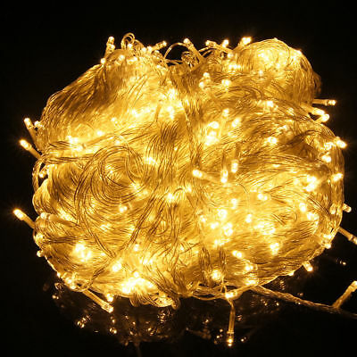 500LED 100M Copper Wire String Light Flashing Christmas Wedding Backdrops SAA