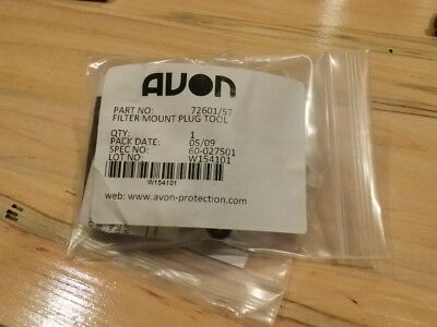 AVON PROTECTION SYSTEMS 72601-56 Filter Mount Plug, G6015432