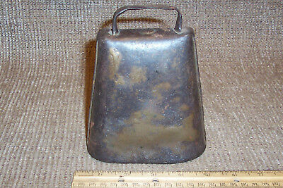 Old Cowbell Primitive Antique Rustic Country Farm Barn Tool Cow Bell