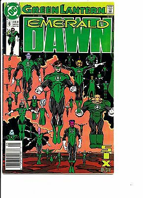 DC Green Lantern lot #50 1st Parallax #36 (1993) #6 Emerald Dawn Arrow/Lantern