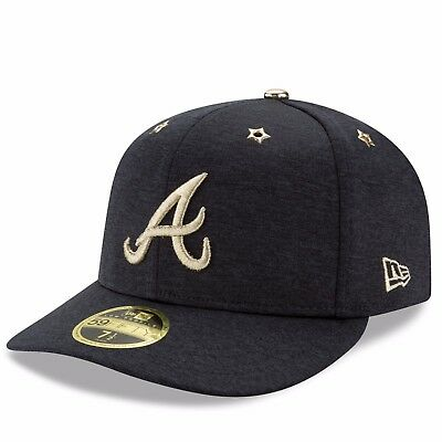 Size 7 1/4 Atlanta Braves 2017 All-Star Game New Era LP 59FIFTY Fitted Cap H1275