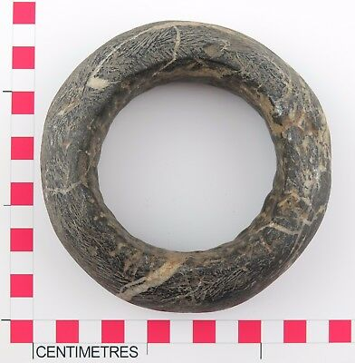 African tribal stone Sahel Burkino Faso Mali stone currency bangle. Ethnographic