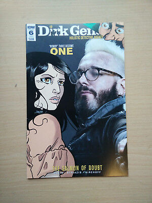 Idw Dirk Gently Salmon Of Doubt #6 Sub Cover Nm