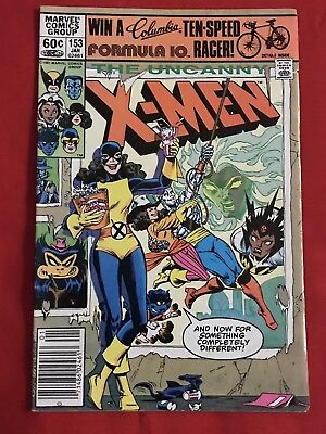 X-Men 153 Kitty Pryde Marvel Comics FN