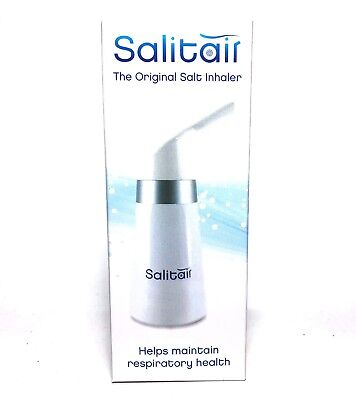Salitair Salt Therapy Inhaler for Asthma and Allergies