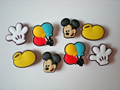 Clog Shoe Charms Button Plug Accessories WristBand Lace Adapter Mickey Mouse