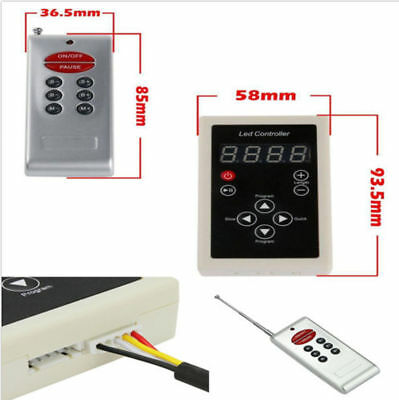 RF Magic Controller 6803 IC 133 Modes for Dream Color Chasing 5050 RGB LED Strip