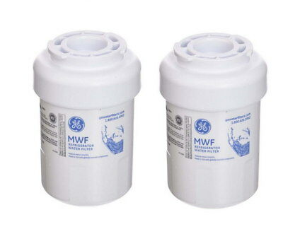 2 PACK GE MWF Replacement Refrigerator Water Filter  Replace MWFP HWF