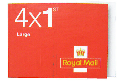 Royal Mail 1st First Class Large Letter Stamps Booklets Self Adhesive Brand New