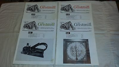 (4) Issues of The Gristmill MWTCA Antique Tool Magazine - Year of 1995 - Lot#24