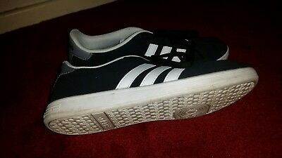 mens adidas neo trainers size 8 worn once vgc