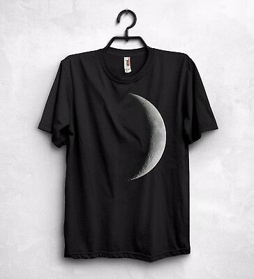 Moon T Shirt Top The Dark Side of the Moon Lunar Eclipse Pink Floyd Music Gift