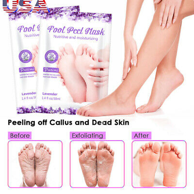 Baby Feet Peeling Exfoliating Foot Mask Socks Remover Callus Dead Skin Cuticles