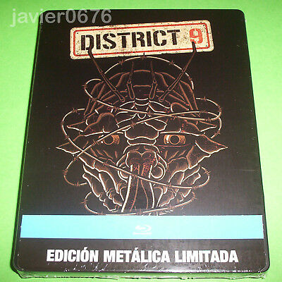 District 9 - Blu-Ray Nuevo Y Precintado Edicion Steelbook