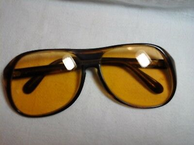 Vintage Ray Ban Timberline Sunglass Frame Brown Fade