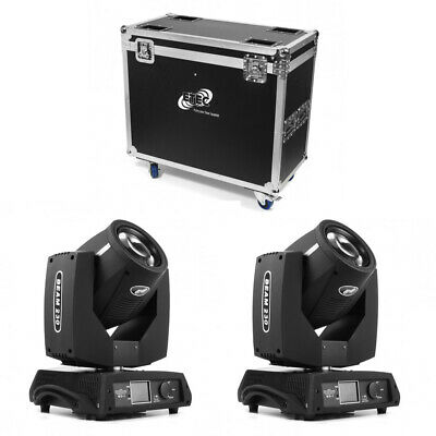 Tourpack 2 Pro Beam 230 Moving Head mit Transportcase - Sharpy 7R Club DJ Disco