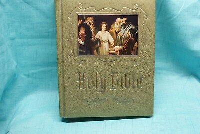 Vintage 1964 ~ Holy Bible ~ Old and New Testaments ~ Red Letter Edition Heirloom