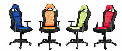 Brand New Design Mesh Sporty PC Computer/Office Chair, 12 month warranty
