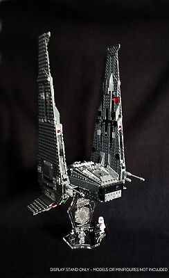 Display stand + slots 3D for Lego 75104-75256 Kylo Ren's Command Shuttle (S1027)