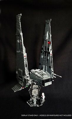 Display stand + slots 3D for Lego 75104 Kylo Ren's Command Shuttle (Star Wars)